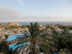 Blick auf den Atlantik in San Agustin, Gran Canaria