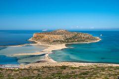 Blick auf den Balos Beach (Kreta)