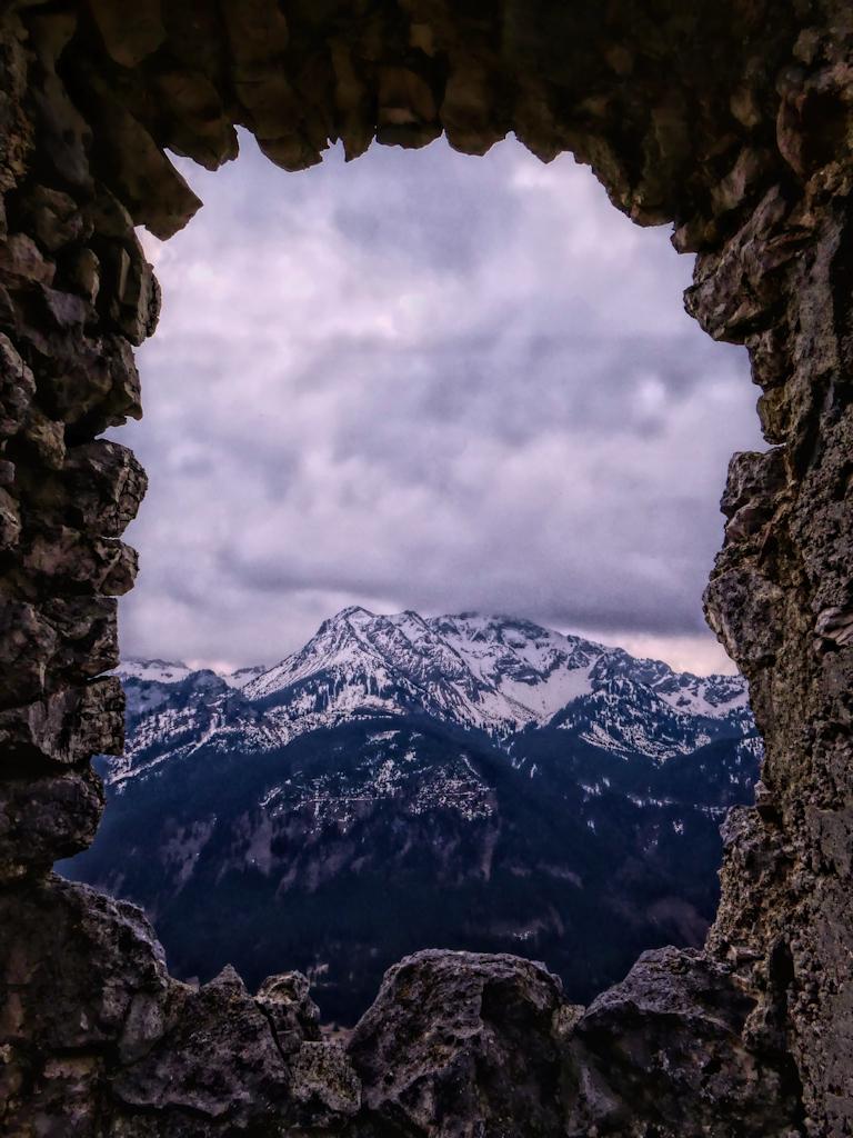 Blick auf den Berg