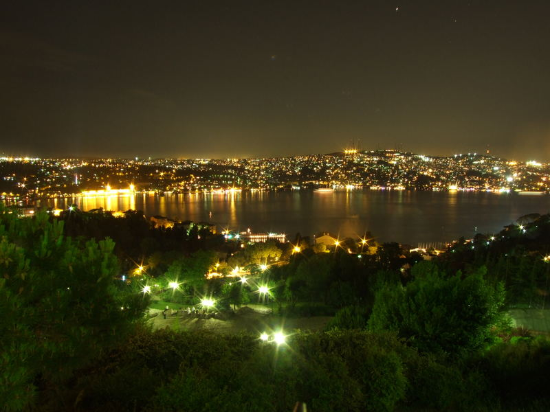 Blick auf den Bosporus, Istanbul