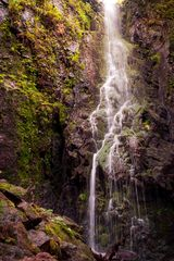 Blick auf den Burgbach Wasserfall