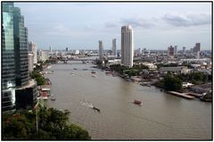 Blick auf den Chao Phraya