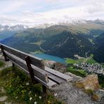 Blick auf den Davoser See