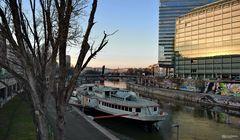 Blick auf den Donaukanal, Wien