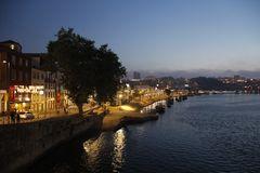 Blick auf den Duro in Porto