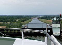 Blick auf den Elbe-Seiten-Kanal