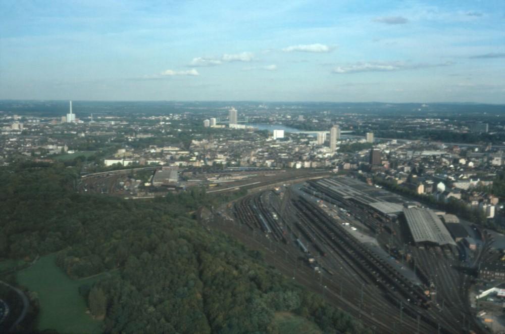 Blick auf den Gbf Köln-Gereon & Bbf
