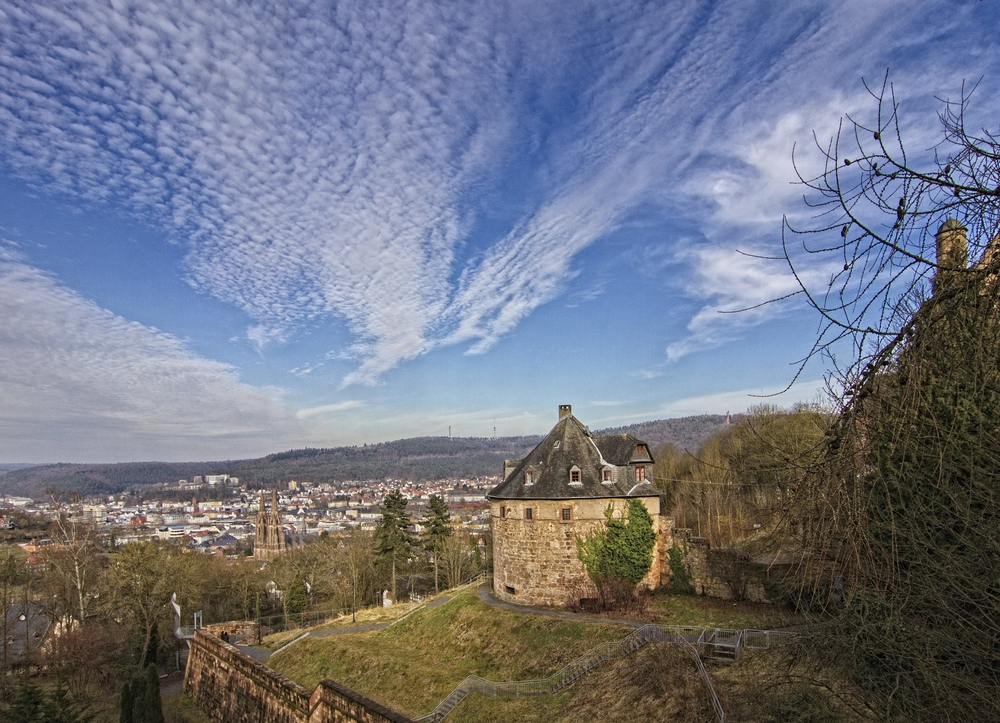 Blick auf den Hexenturm