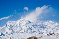 Blick auf den Himalaja