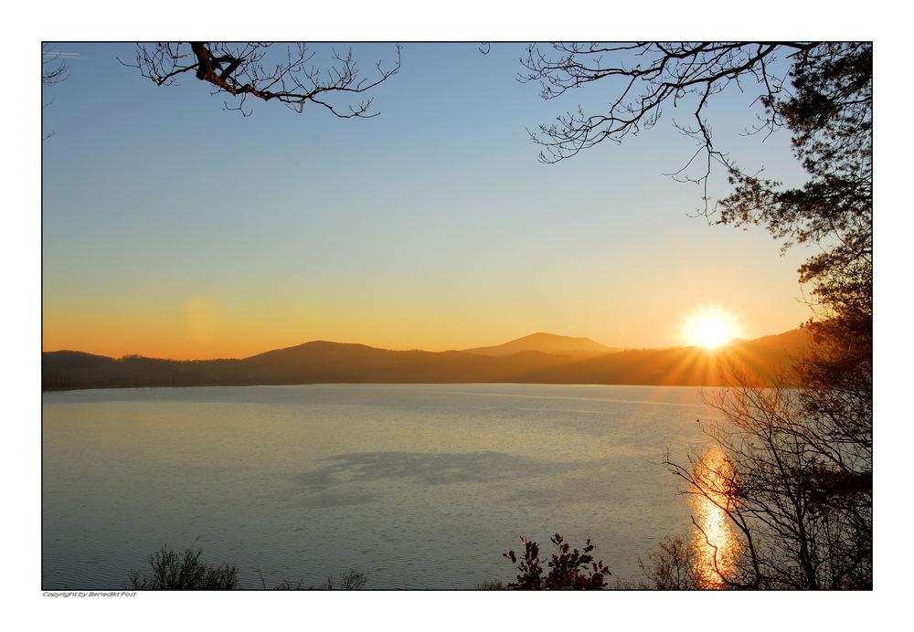 Blick auf den Laacher-See