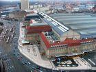 Blick auf den Leipziger Hauptbahnhof