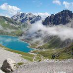 Blick auf den Lünersee im Vorarlberg…