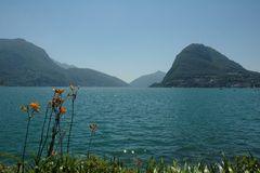Blick auf den Luganer See