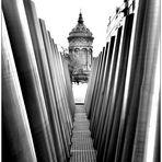 Blick auf den Mannheimer Wasserturm