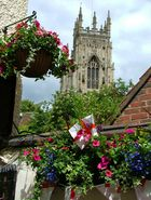 Blick auf den Minster in York