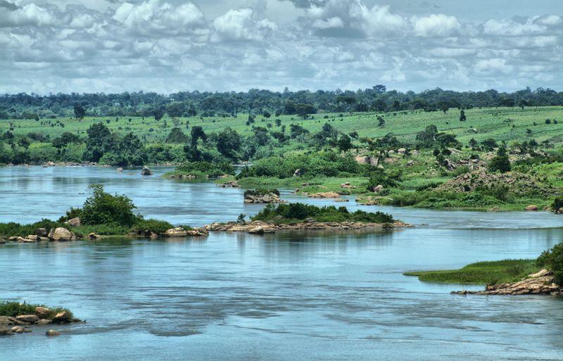 Blick auf den Nil / Kalangala