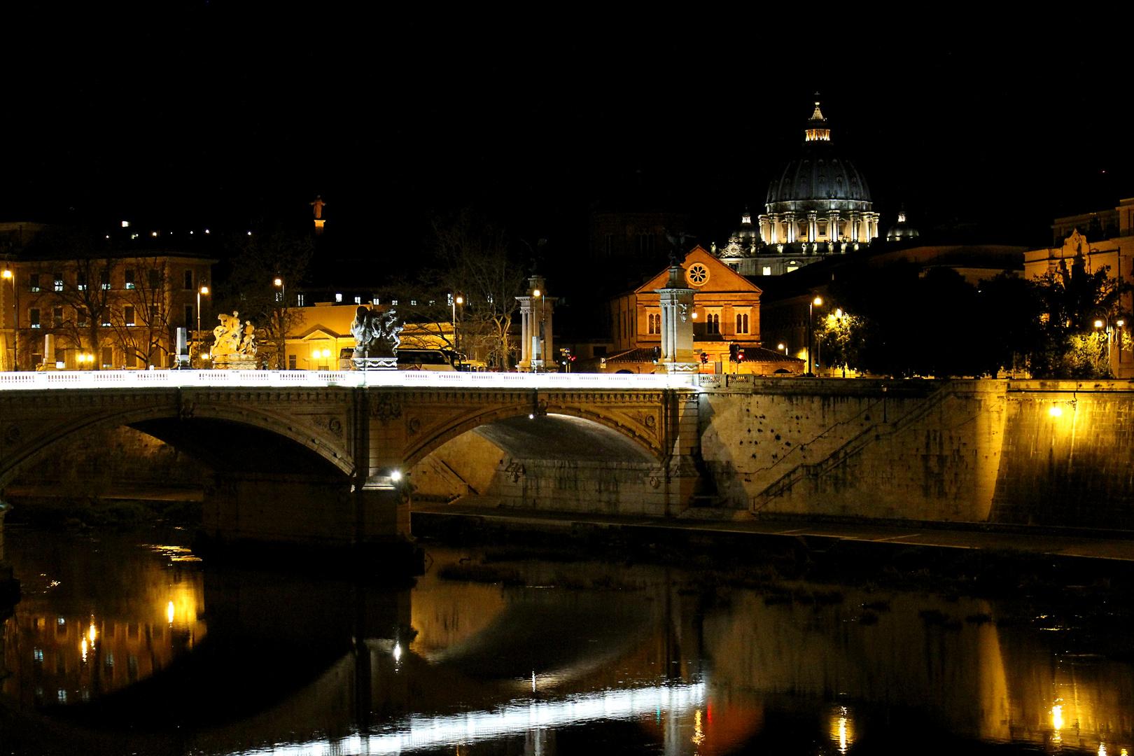 Blick auf den Petersdom...
