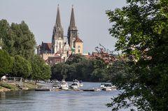 Blick auf den Regensburger Dom