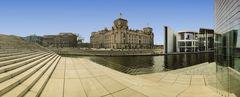 Blick auf den Reichstag vom ...