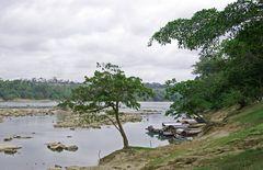 Blick auf den Rio Usumacinta