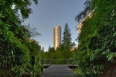 Blick auf den RWE-Turm Essen mal aus einer anderen Sicht