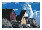 Blick auf den Uummannaq-Fjord