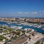 Blick auf den Yachthafen von Saint-Raphaël
