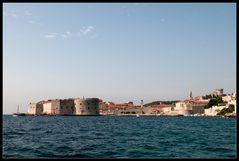 Blick auf die alte Festung Dubrovnik