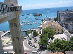 Blick auf die Bahia dos todos os Santos