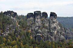 Blick auf die Basteifelsen