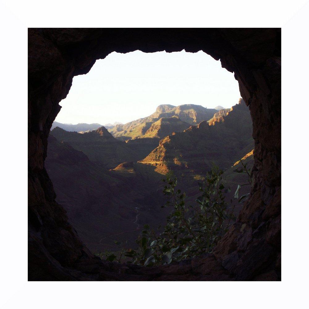 Blick auf die Bergwelt von Gan Canaria