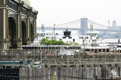 """Blick auf die Brooklyn Bridge""..."