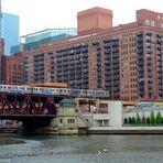 Blick auf die Chicago Elevated