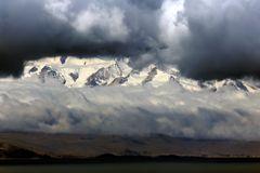 Blick auf die Cordillera Real