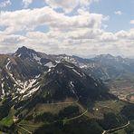 Blick auf die Eisenerzer Alpen
