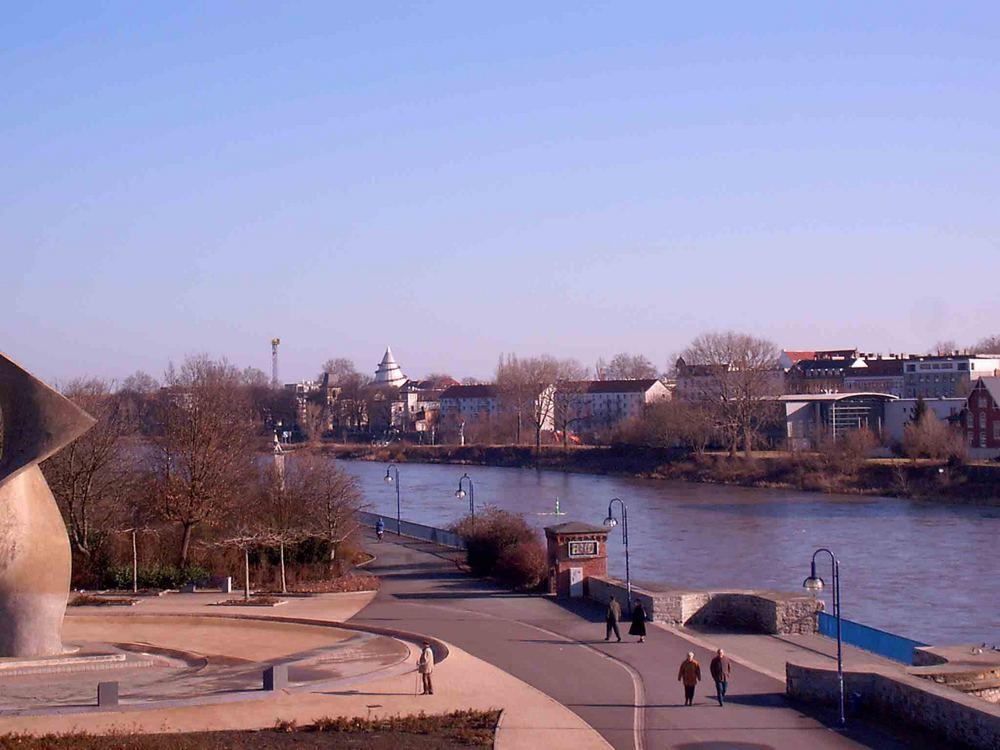 Blick auf die Elbe (1)