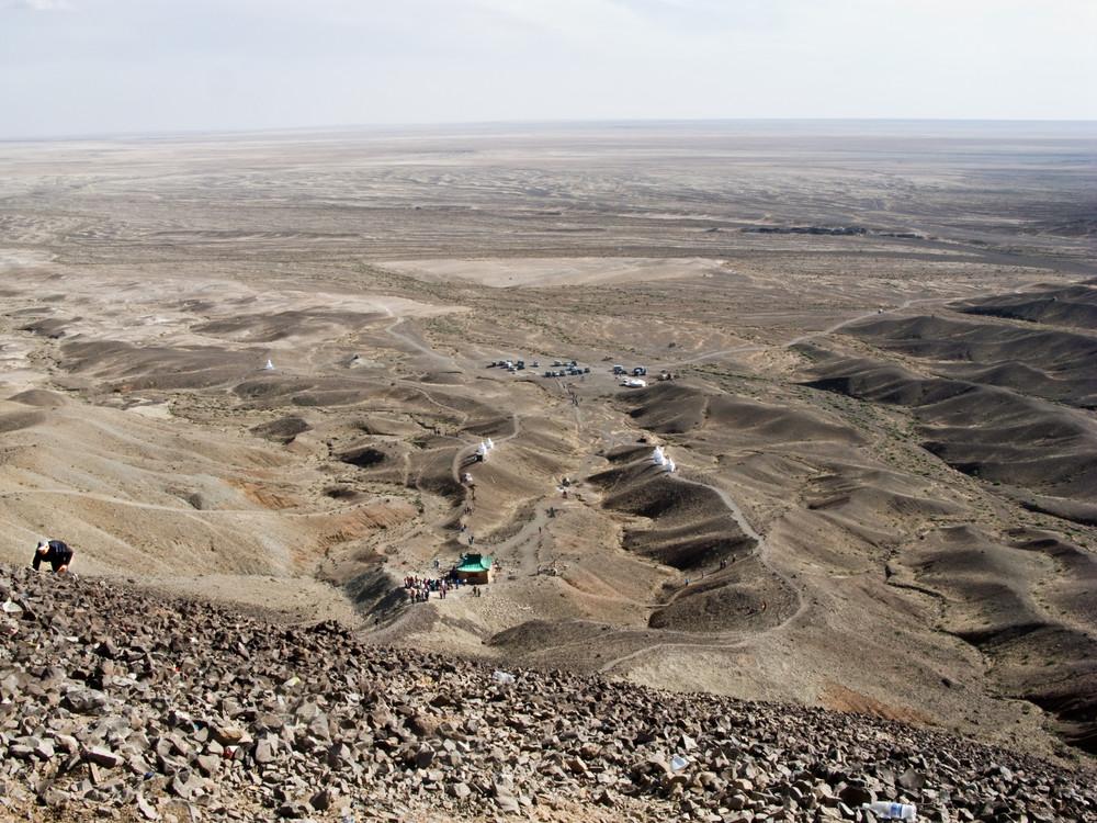 Blick auf die Gobi-Ebene