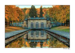 Blick auf die Grotte - Schlosspark Wilhelmsthal