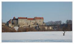 Blick auf die Hauptburg...