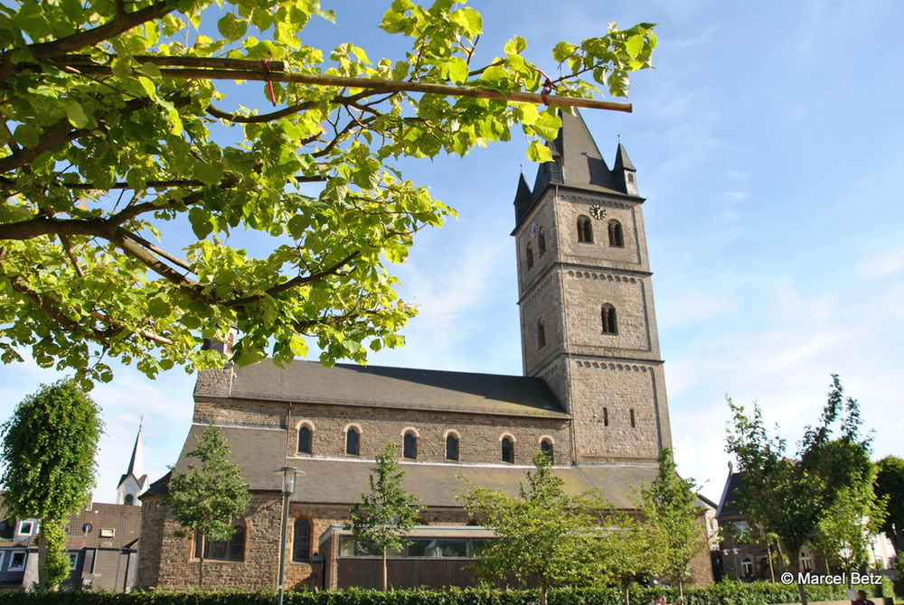 Blick auf die Kirche St. Nikolaus in Wipperfürth
