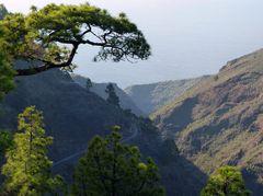 Blick auf die Küste bei Puntagorda
