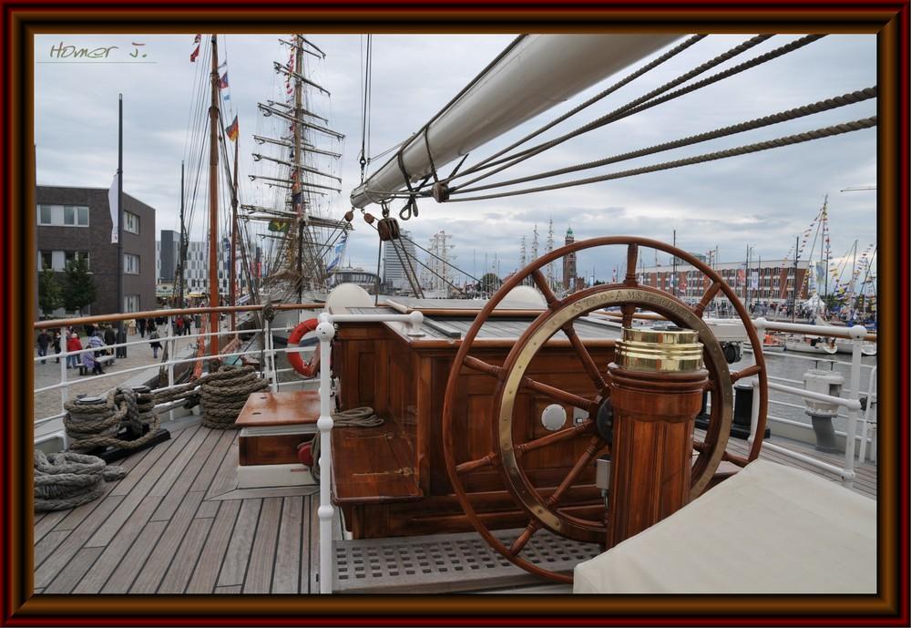Blick auf die Lütte Sail 2008
