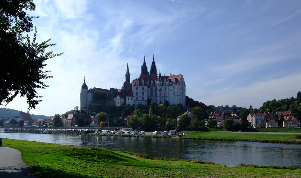 Blick auf die Meißner Burg