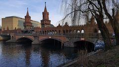 Blick auf die Oberbaumbrücke