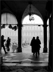 Blick auf die Piazza