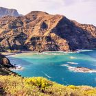 Blick auf die Playa de La Caleta