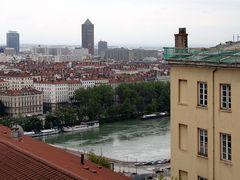 Blick auf die Rhône