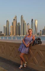 Blick auf die Skyline von Dubai