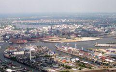 Blick auf die Speicherstadt 2004