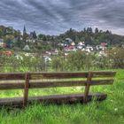 Blick auf die Stadt Homberg Ohm
